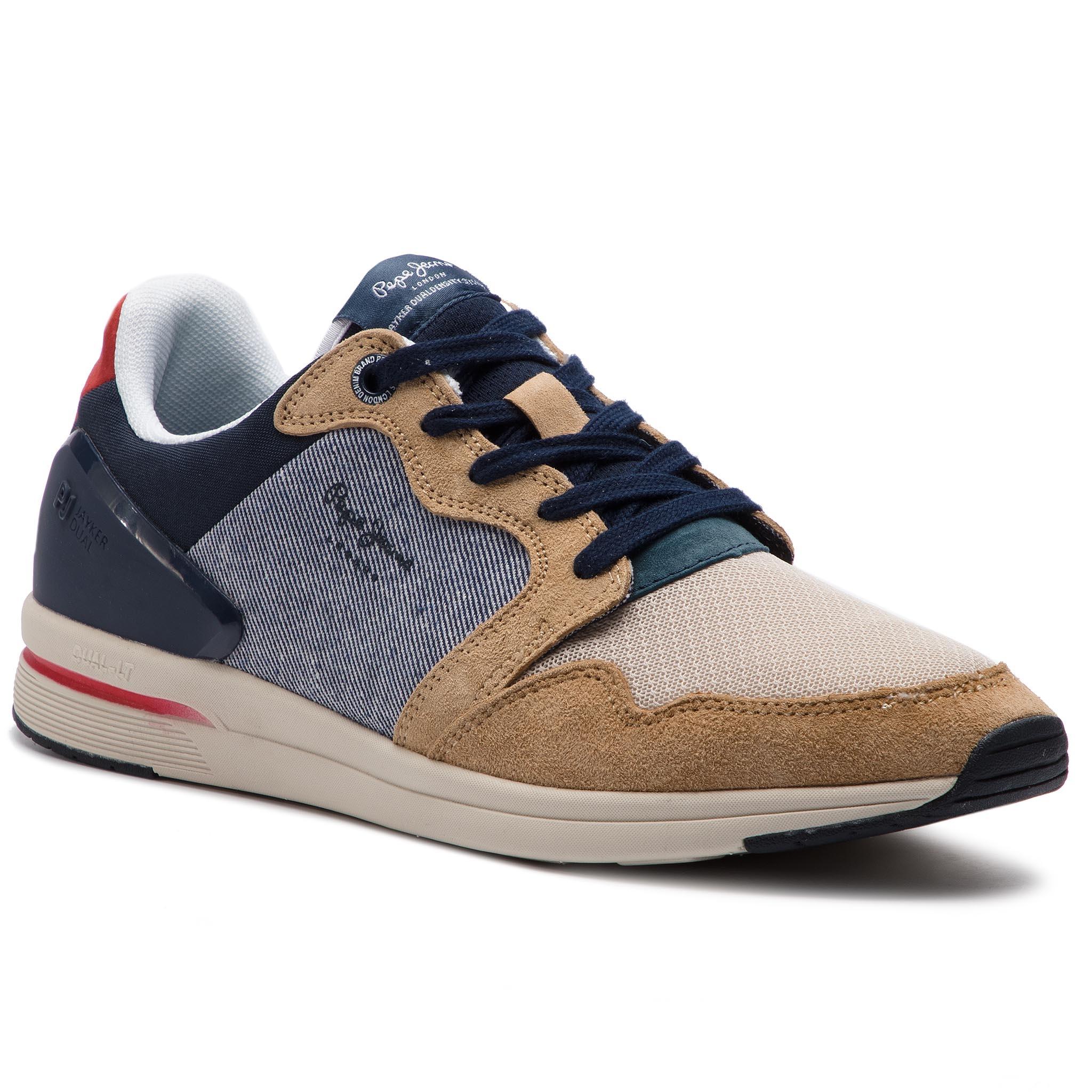 Sneakers PEPE JEANS Jayker Nubuc PMS30480 Anthracite 982