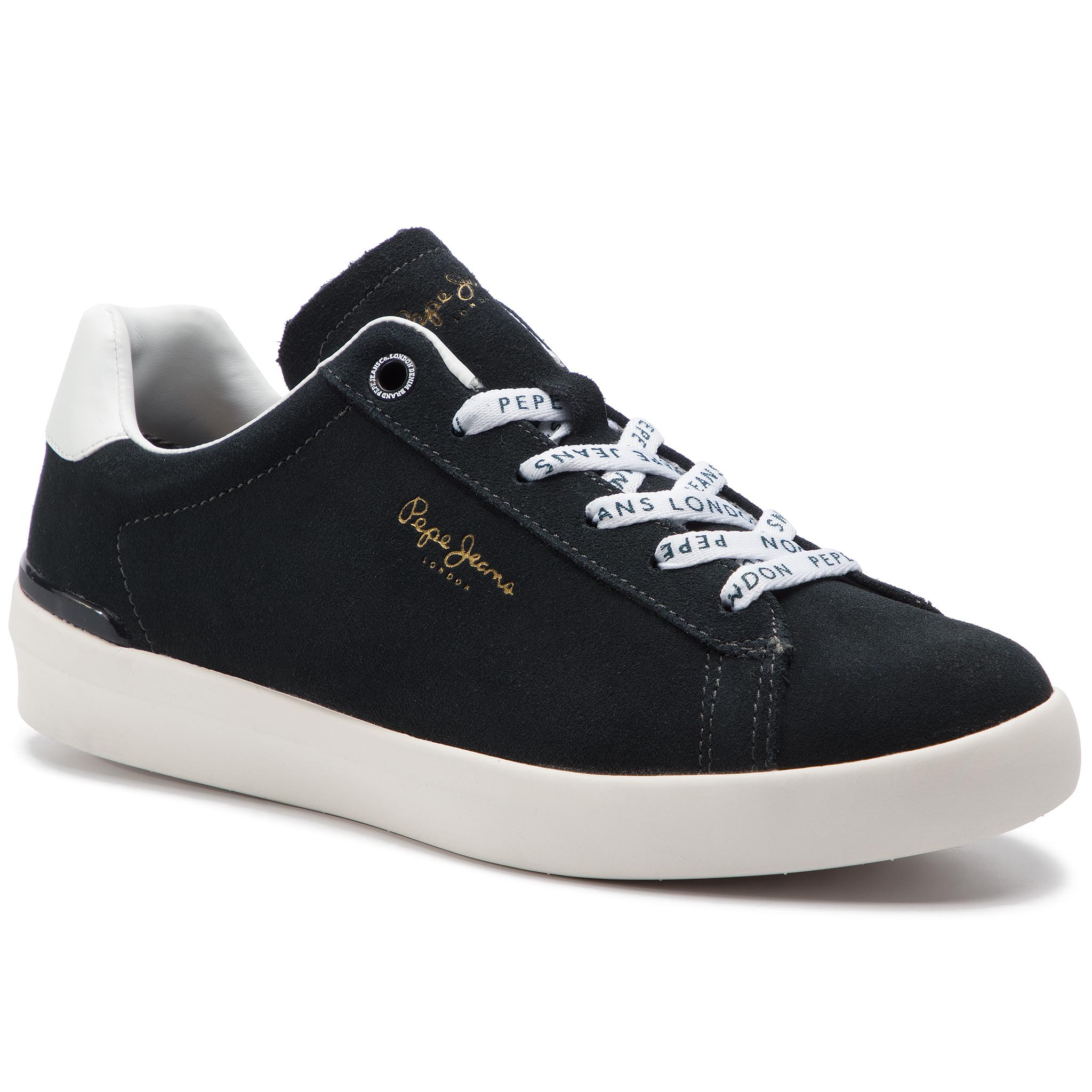 Pepe Jeans Pms30524 Roland Suede 588 Sneakers Ocean W9HEDI2