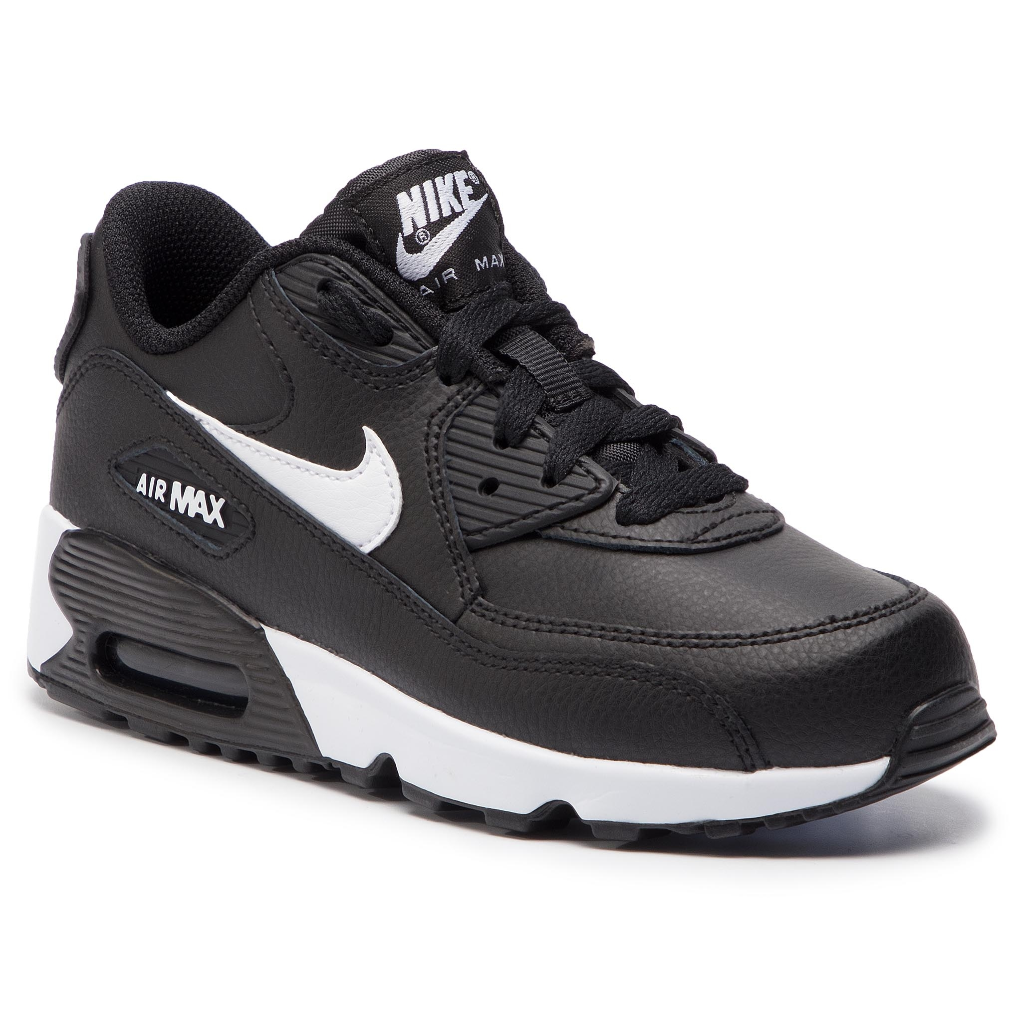 pretty nice 58934 ae5ba Shoes NIKE Air Max 90 Ltr (PS) 833414 025 Black White Anthracite