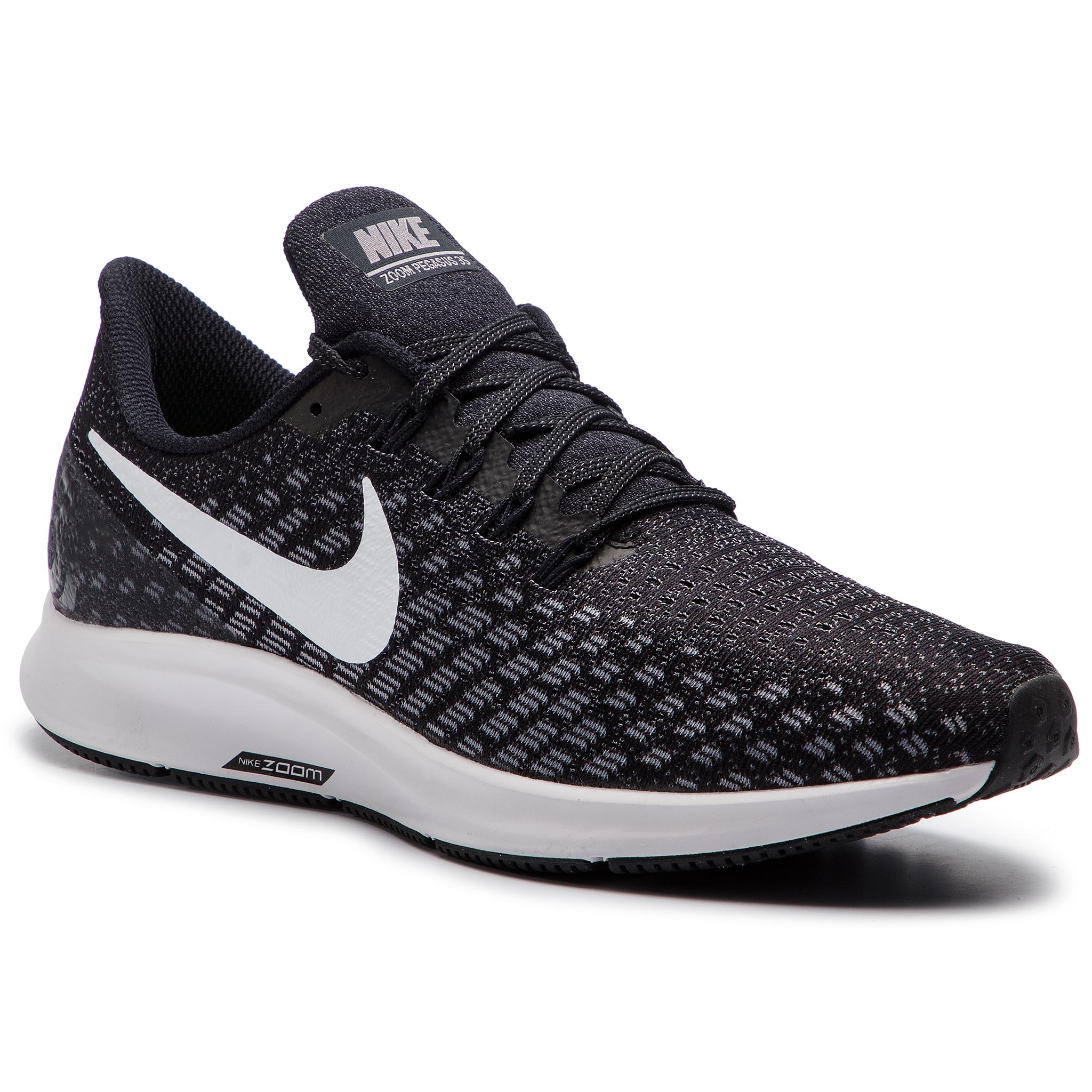 9c4c0362d151 Shoes NIKE Air Zoom Pegasus 35 942851 001 Black White Gunsmoke Oil Grey