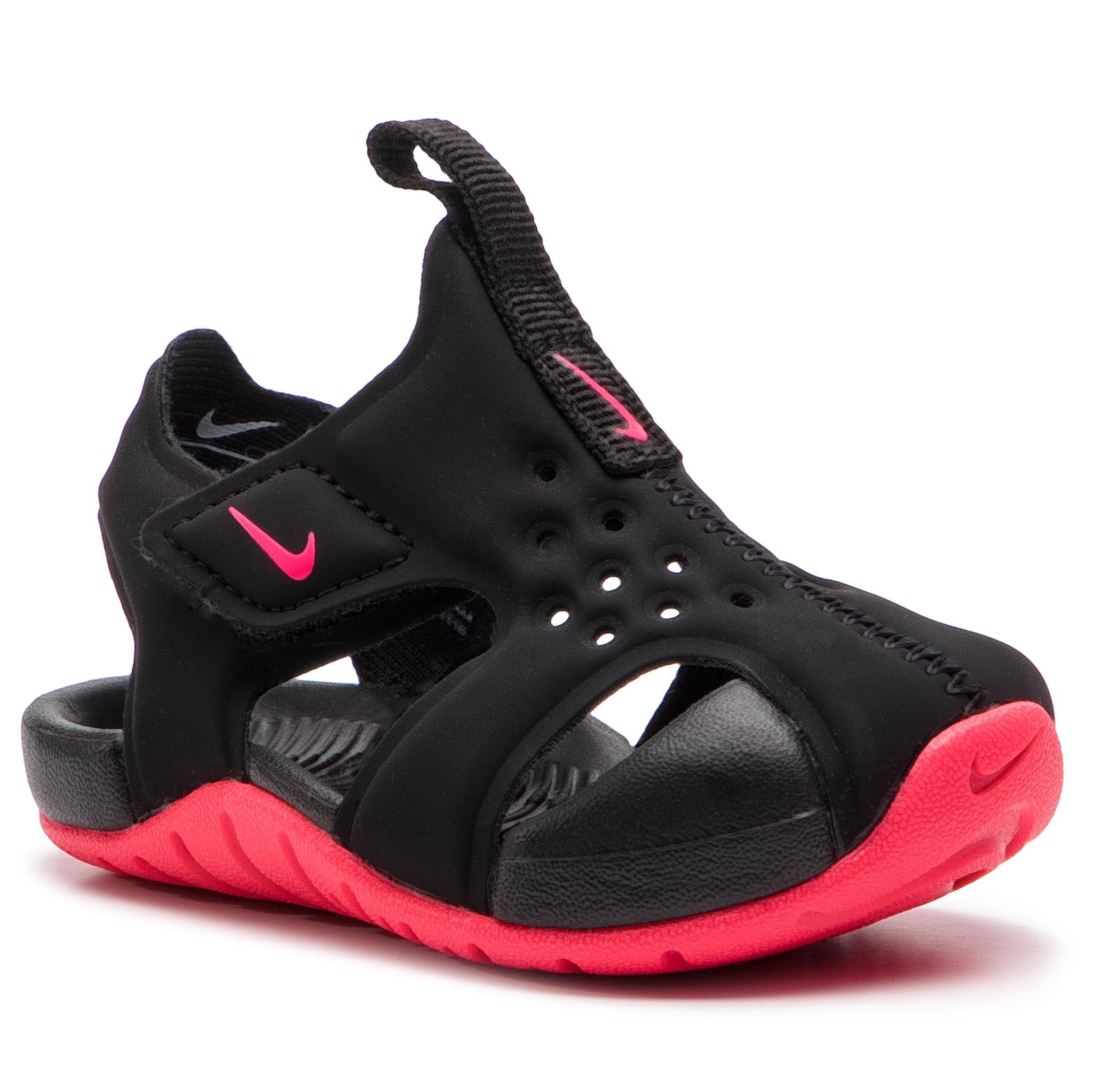 60550449e959 Sandals NIKE - Sunray Protect 2 (TD) 943827 001 Black White ...