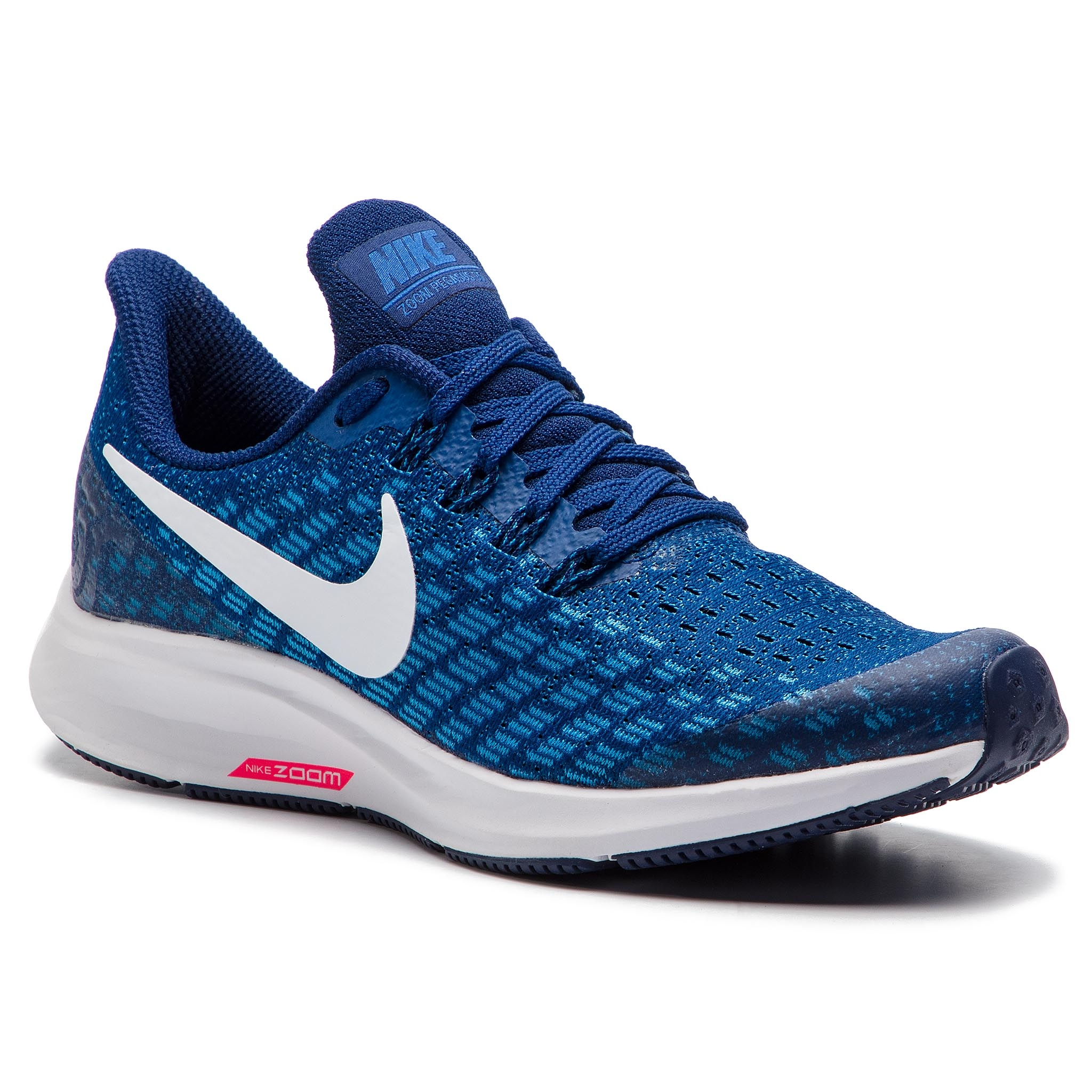 ff07f19238de Shoes NIKE Air Zoom Pegasus 35 (GS) AH3482 404 Indigo Force White Photo Blue
