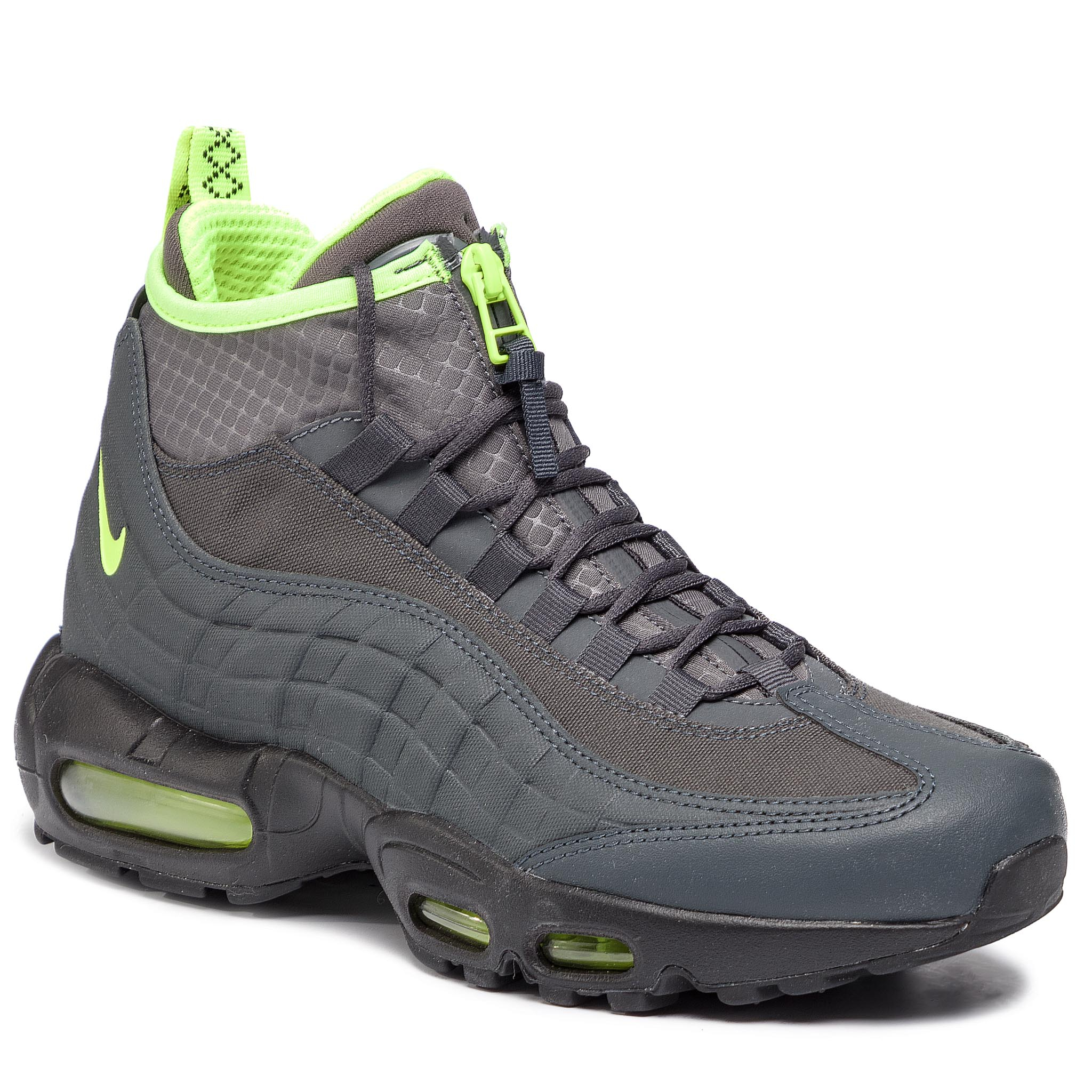 wholesale dealer bc61a 2e465 Shoes NIKE Air Max 95 Sneakerboot 806809 003 Anthracite Volt Dark Grey