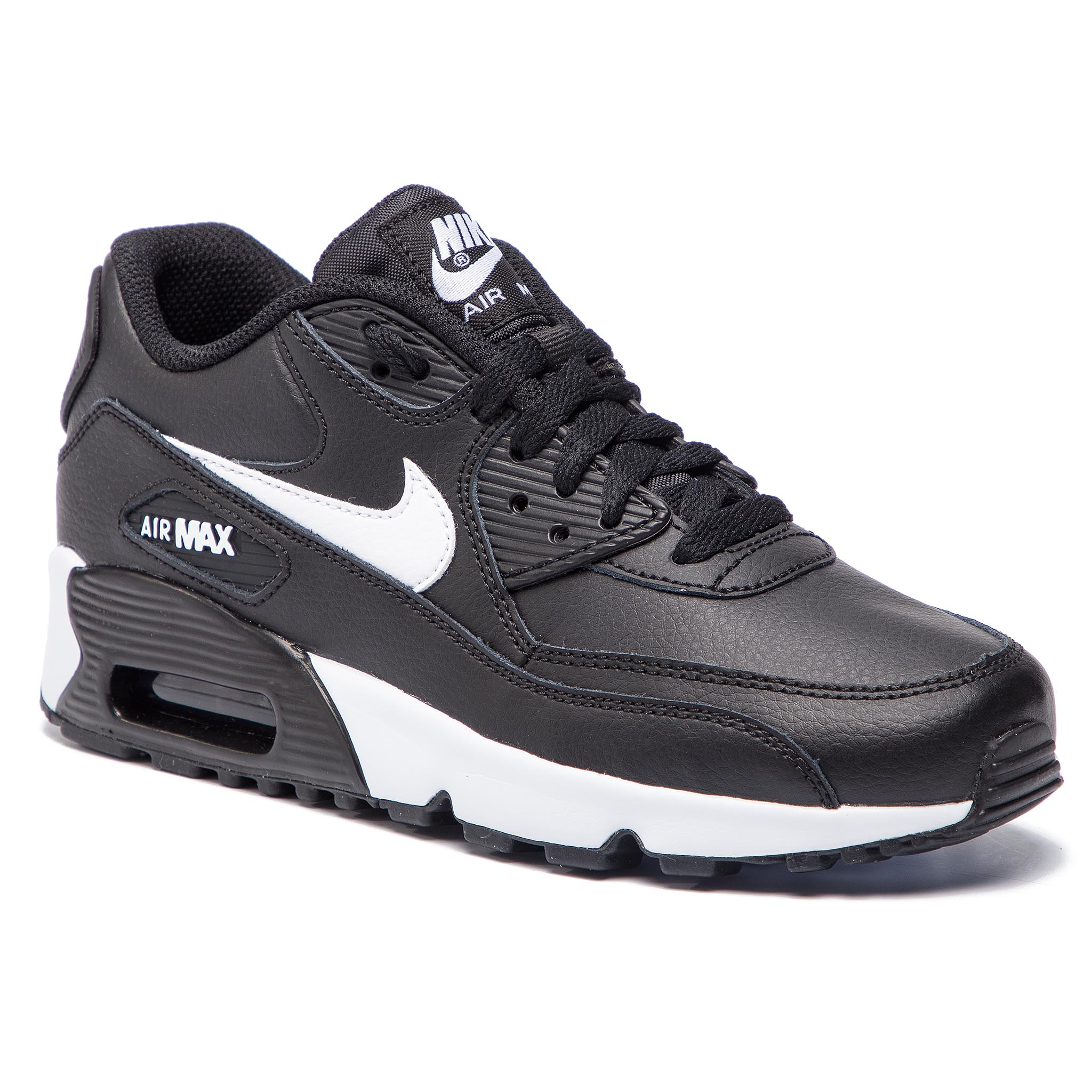 new arrival 02d9d 08339 Shoes NIKE Air Max 90 Ltr 90 (GS) 833412 025 Black Whit Antracite
