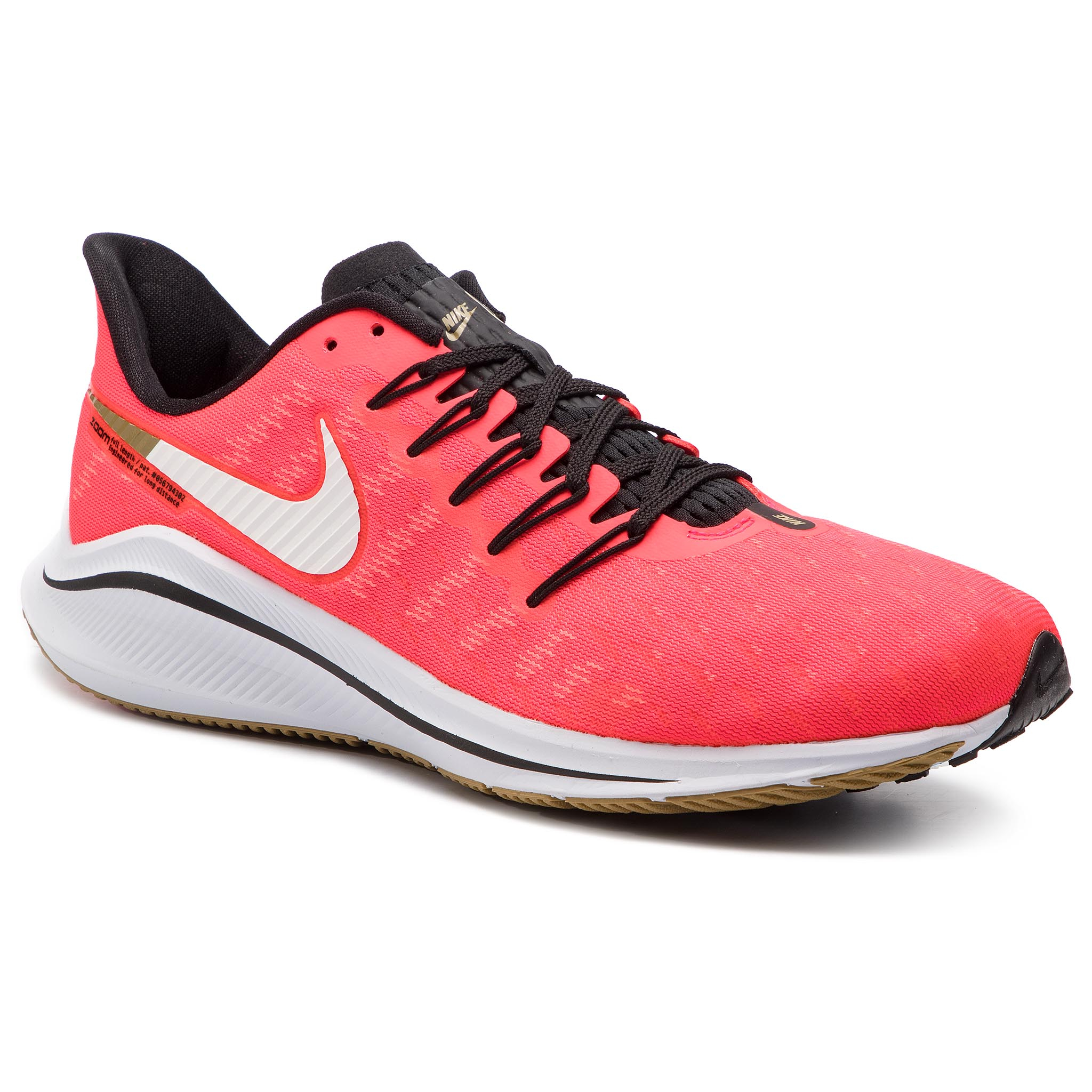 info for 82a62 30587 Shoes NIKE Air Zoom Vomero 14 AH7857 620 Red Orbit White Black