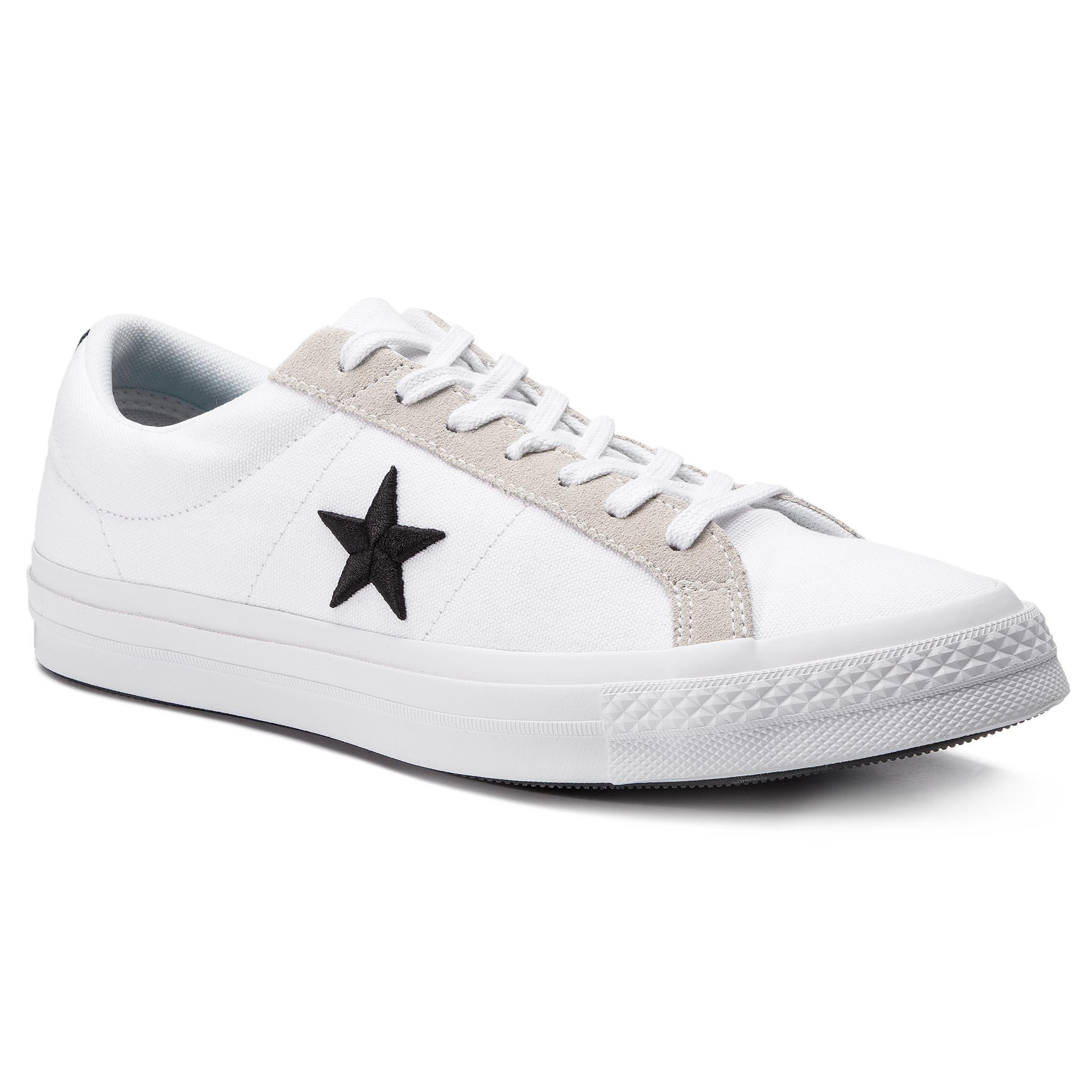 e77fd91560bffb Plimsolls CONVERSE - One Star Ox 160624C White Gym Red White ...