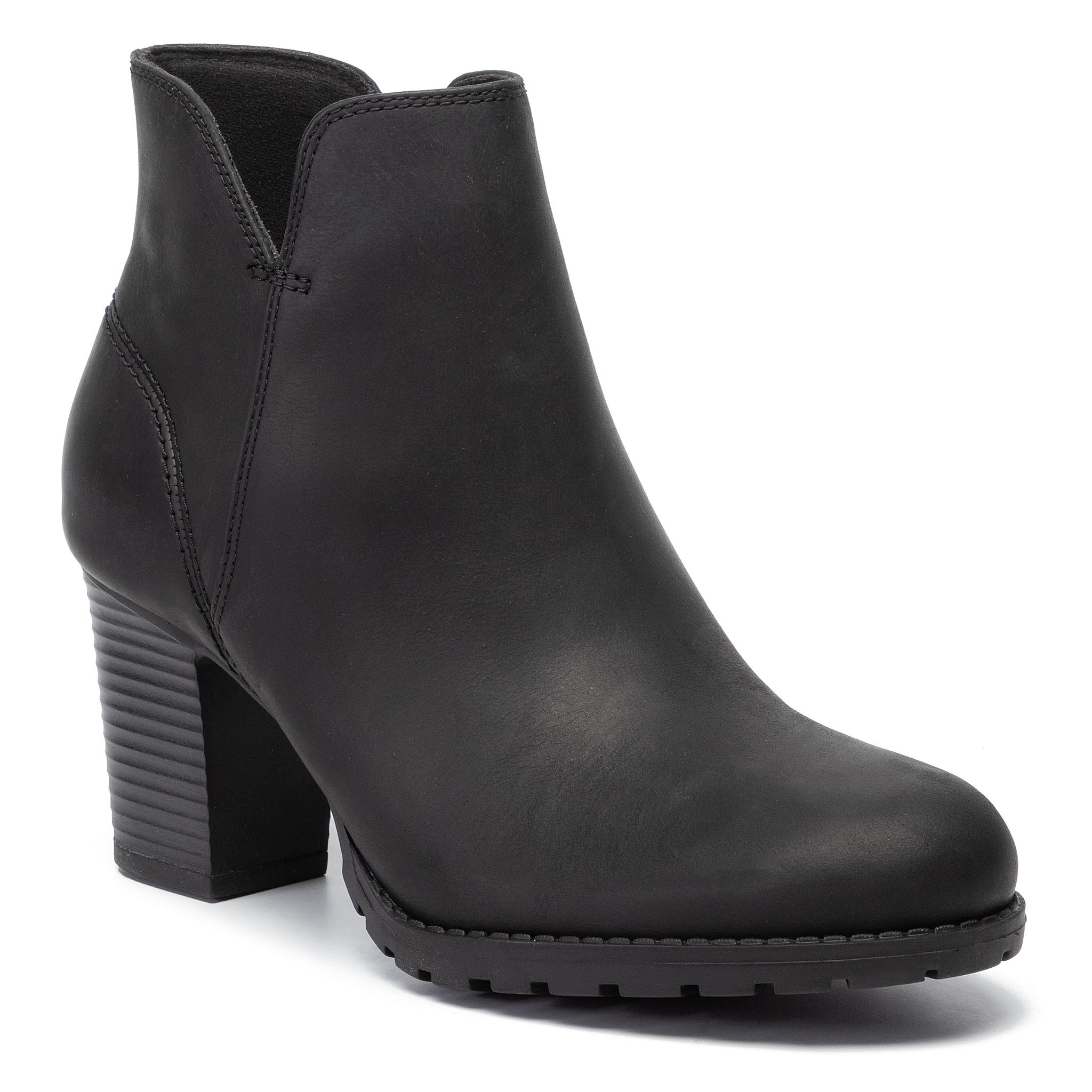 Womens Clarks Shoes Chorus Bombay Aubergine Lea – Eco