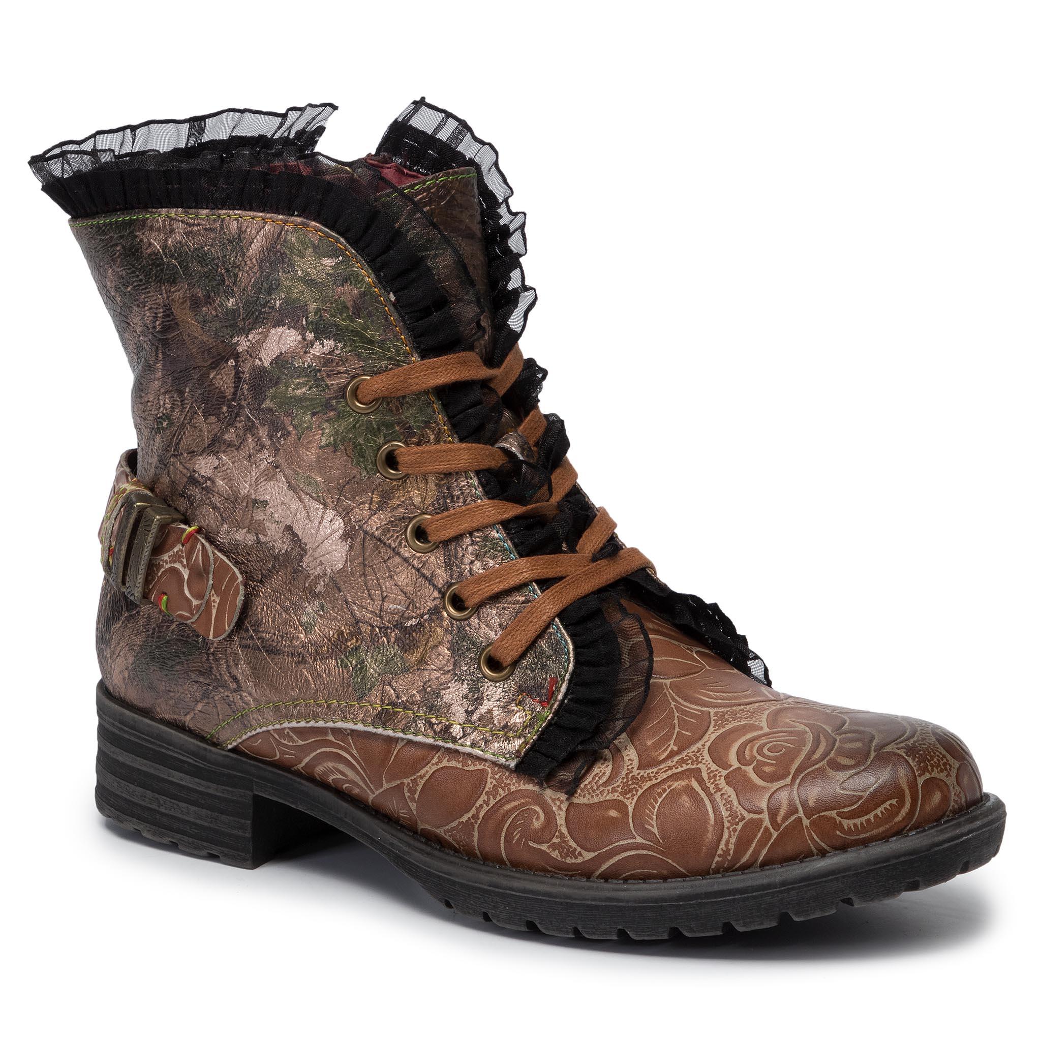 Boots LAURA VITA Alcizeeo 12 SL886 2A Noir Boots High