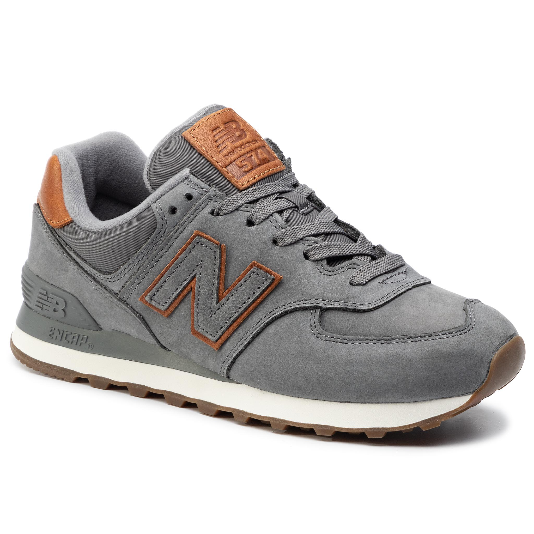 sports shoes 25076 80c48 Sneakers NEW BALANCE - ML574ESC Navy Blue - Sneakers - Low ...