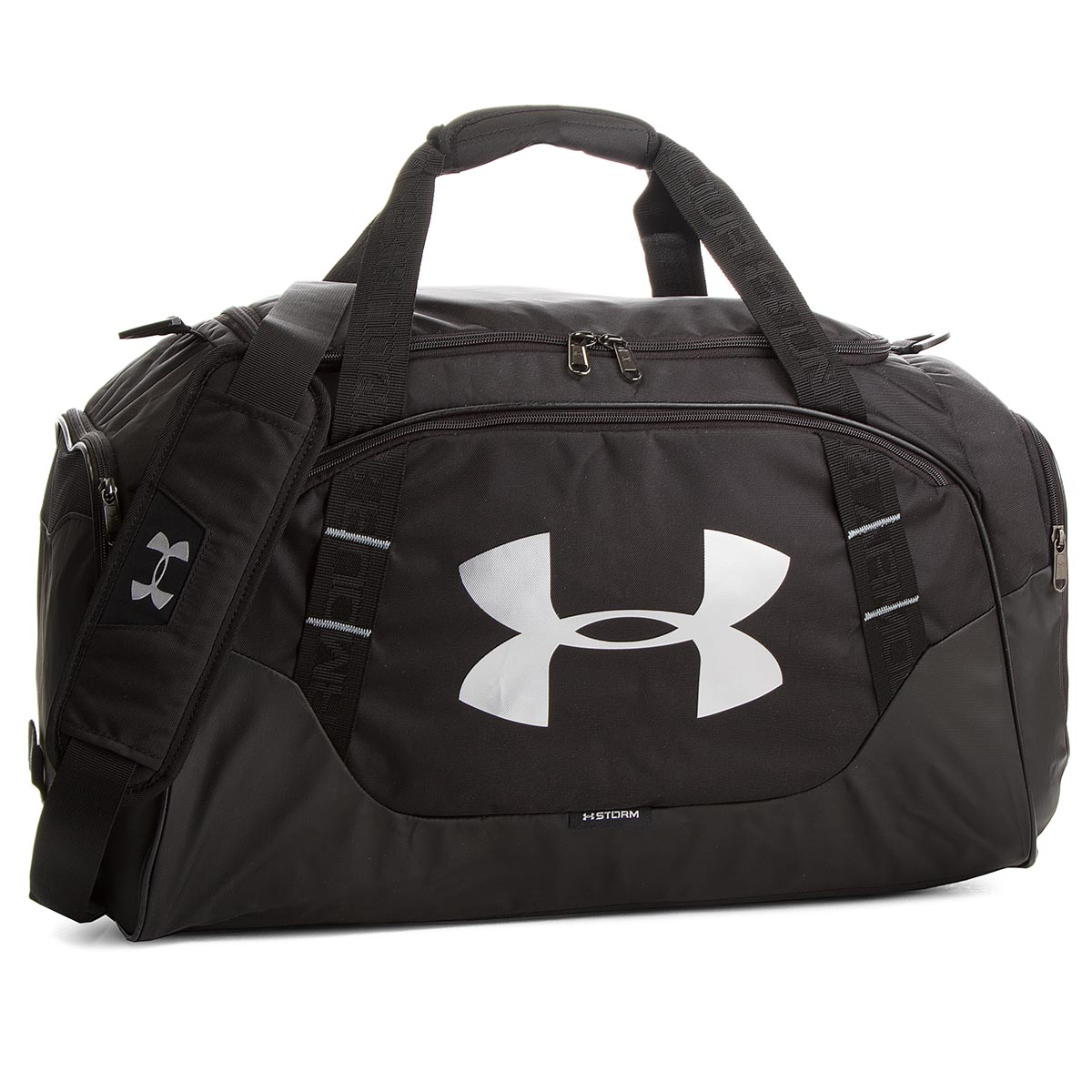 34fdc7dee2 Bag UNDER ARMOUR - Undeniable Duffle 3.0 1300214-001 Sm/Blk/Blk/Slv ...