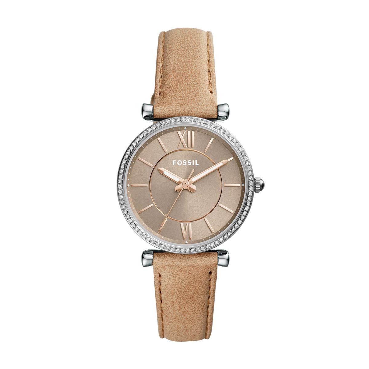 Wristwatch Fossil Tailor Es4394 Blue Rose Gold Womens Watches Perfect Boyfriend Es4093 Navy