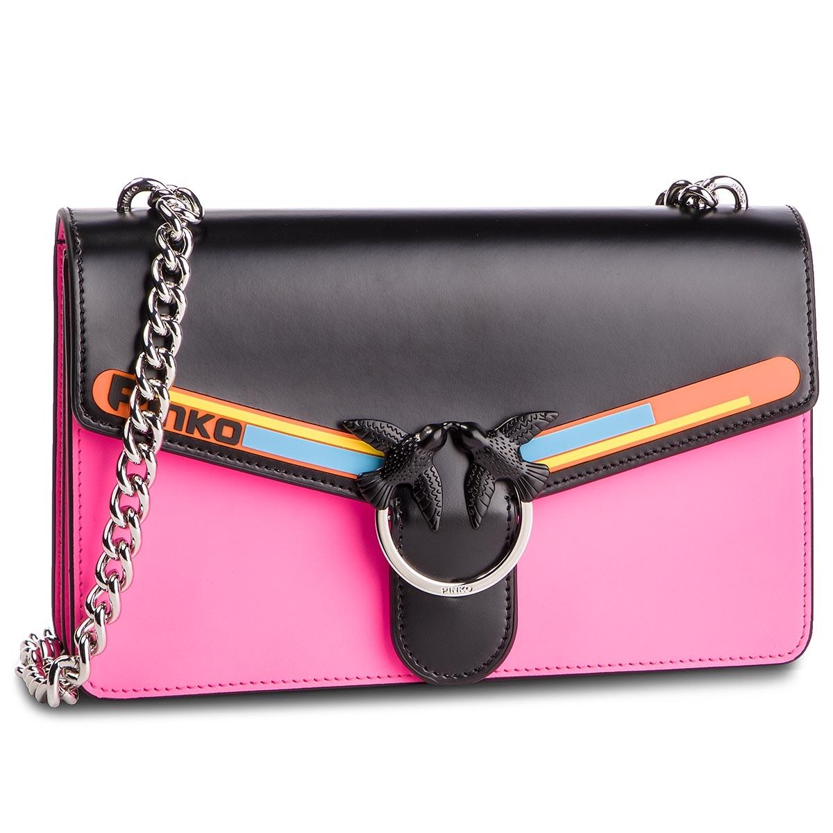 046be1da695b8 Handbag PINKO Mini Love Laser Tracolla PE 19 PLTT 1P21BF Y5EQ Verde Acqu  SS6. €364