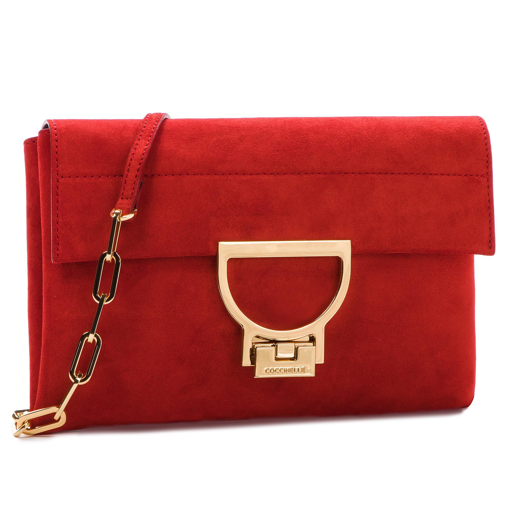 0042ac42ae Handbag COCCINELLE - CC1 Essentielle Suede E1 CC1 15 02 01 Ebano W00 ...