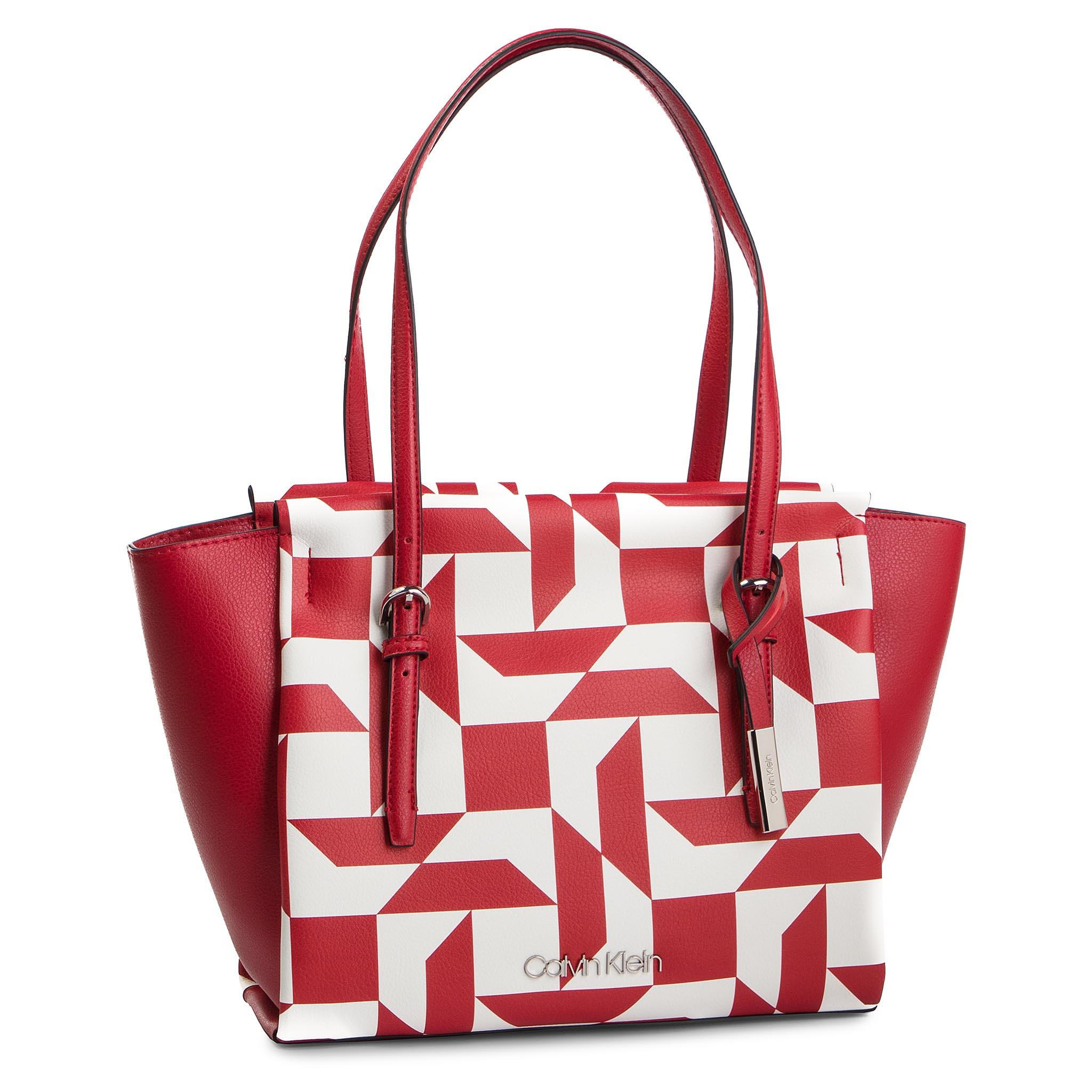 63deb15c9a0 Handbag CALVIN KLEIN - Monogram Duffle K60K605017 908 - Classic ...