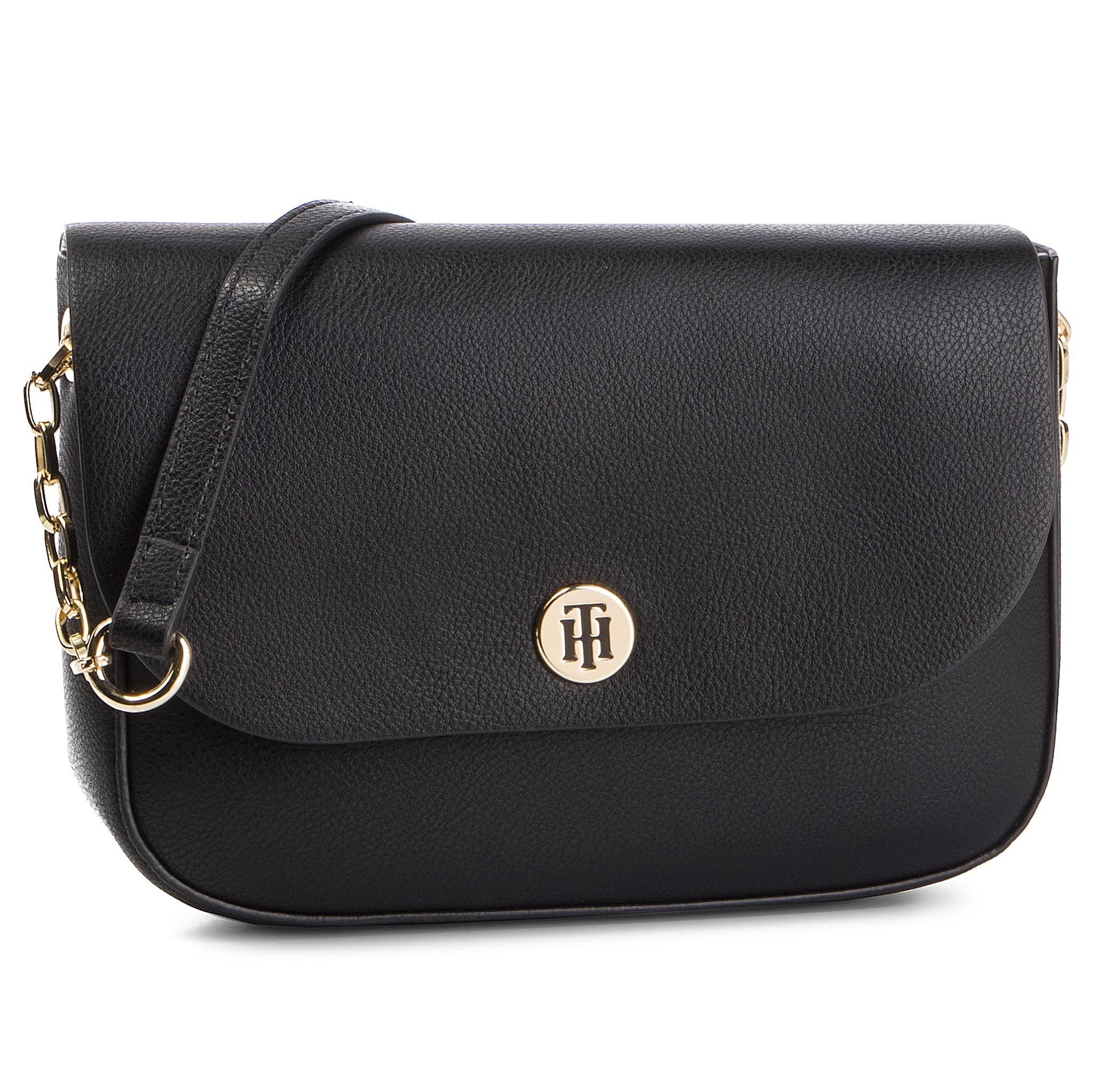 303aa3488f Handbag TOMMY HILFIGER - Honey Finegrain Crossover AW0AW06630 002 ...