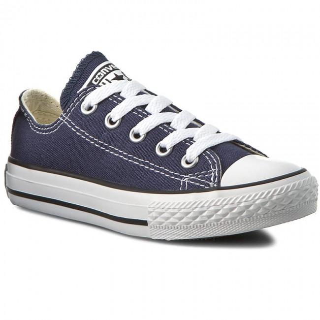 e1e9aeeeadac Sneakers CONVERSE - Yths C T Allstar Ox 3J237 Navy - Laced shoes ...