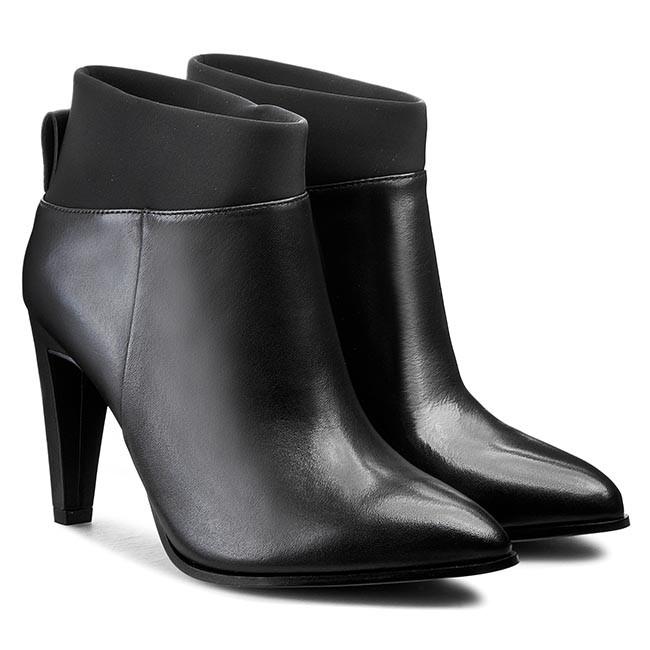 Posey Clarks Azizi Boots 261128584 Black Leather OiuwPkTXZ
