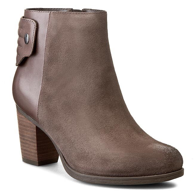 Womens Boots Clarks Palma Rylie Taupe Suede