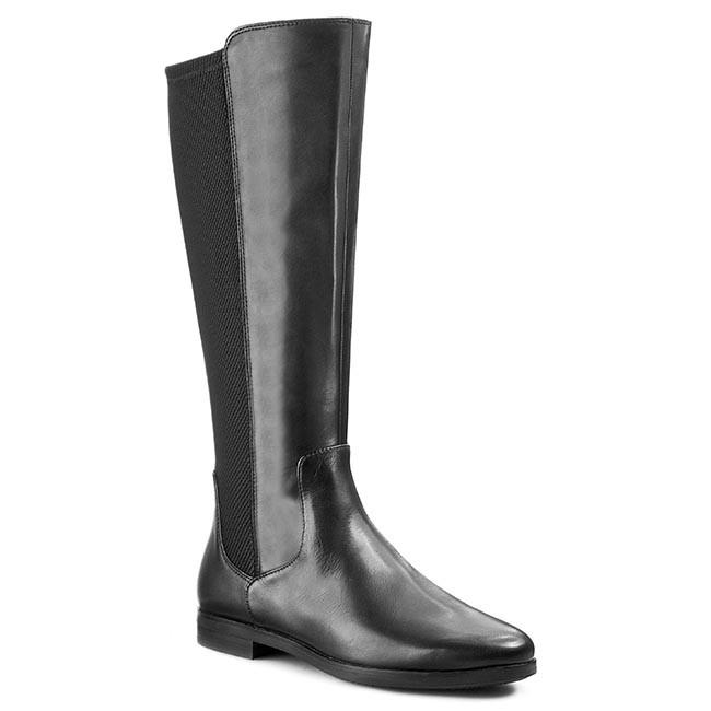 c49b113f63d Knee High Boots ECCO - Aarhus 35955351052 Black/Black - Jackboots ...