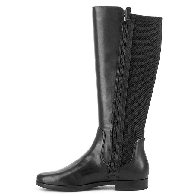 11b71ae857a Knee High Boots ECCO - Aarhus 35955351052 Black/Black - Jackboots - High  boots and others - Women's shoes - www.efootwear.eu