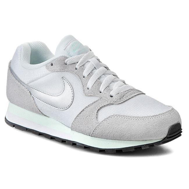 Shoes NIKE - Md Runner 2 749869 103 White/Mtllc Slvr/Fbrglss/Pr