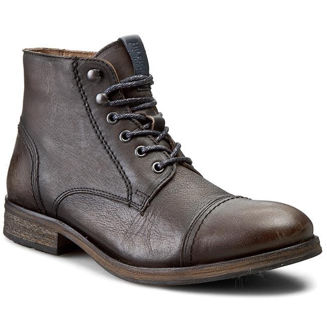 Boots TOMMY HILFIGER - DENIM Dillan 4A EM56820068 Ink 284