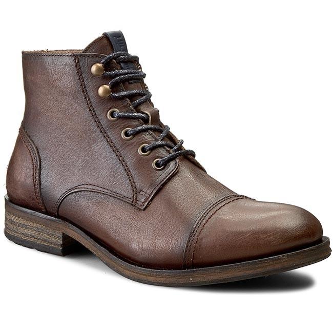 Boots TOMMY HILFIGER - DENIM Dillan 4A EM56820068 Winter Cognac 906