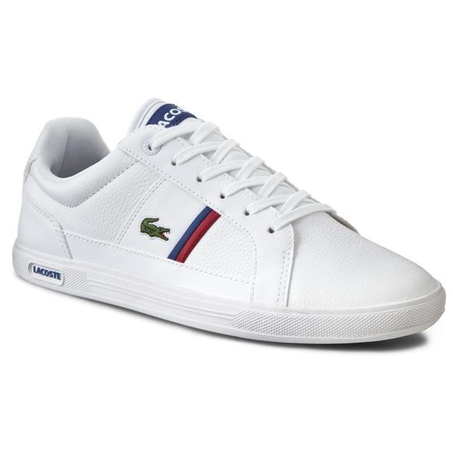 68b3f2641d1a75 Sneakers LACOSTE - Europa Tcl Spm 7-30SPM000821G Wht Wht - Sneakers ...