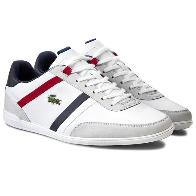 w magazynie sklep z wyprzedażami nowy autentyczny Sneakers LACOSTE - Giron Tcl Spm 7-30SPM001421G White