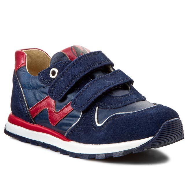 Shoes NATURINO - Bomba 0012009606.02.9111 Nauy/Rosso - Velcro ...
