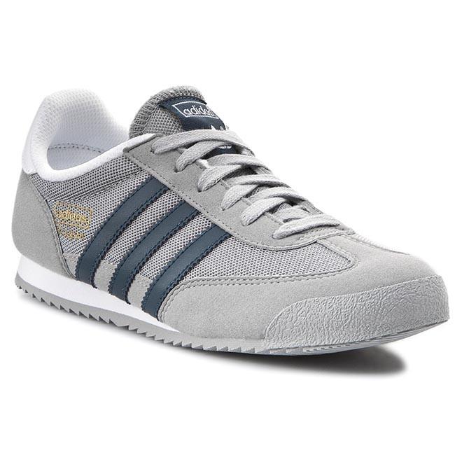 Sneakers adidas - Dragon J B25676 Mgsogr Midnight Ftwhite - Sneakers ... 05e97b1006ea