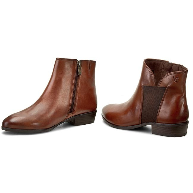 boots 25 Boots CAPRICE High Boots 9 25306 and Cognac 305 88q7tO