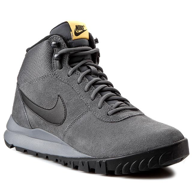 3e0f61f621524d Shoes NIKE - Hoodland Suede 654888 008 Dark Grey Blk Lsr Orng Cl ...