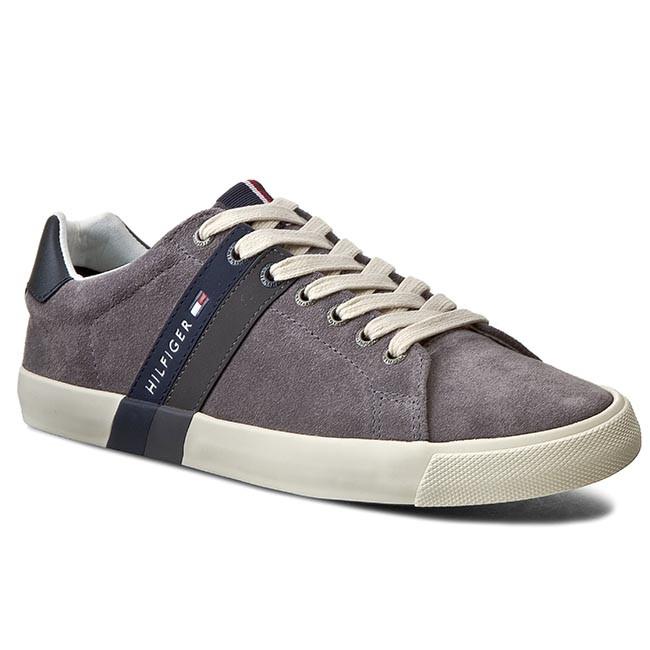 29ea19700 Sneakers TOMMY HILFIGER - Volley 5B FM56819868 Steel Grey 039 ...