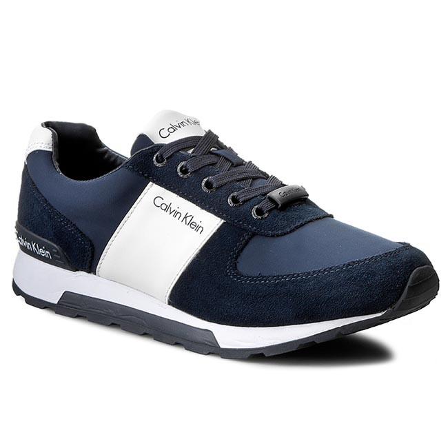 84ea75a55e Sneakers CALVIN KLEIN JEANS - Dusty SE8448 Navy White - Casual - Low ...