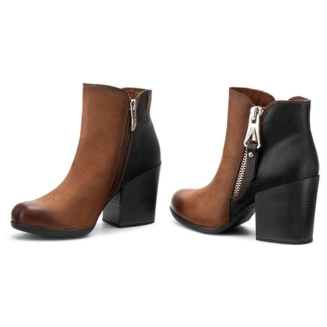Boots TAMARIS - 1-25333-25 Muscat/Black 313