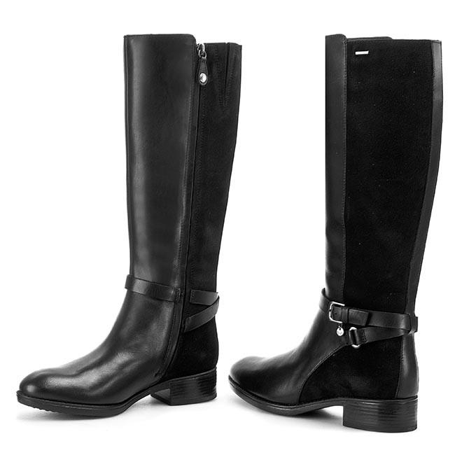 Knee High Boots GEOX - D Felicity Abx A