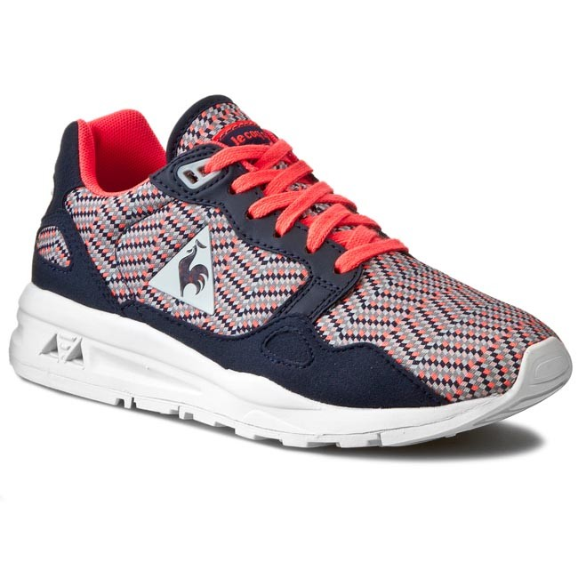 6b4314df4aba ... switzerland sneakers le coq sportif lcs r900 w jacquard 1521406 dress  blue fiery cor aacef a06ea