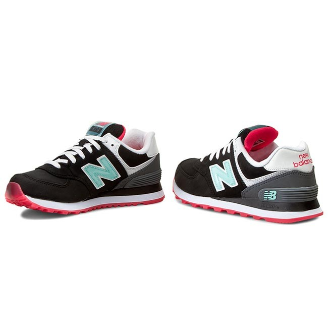 Sneakers NEW BALANCE - Classics WL574SLZ Black - Sneakers - Low ...