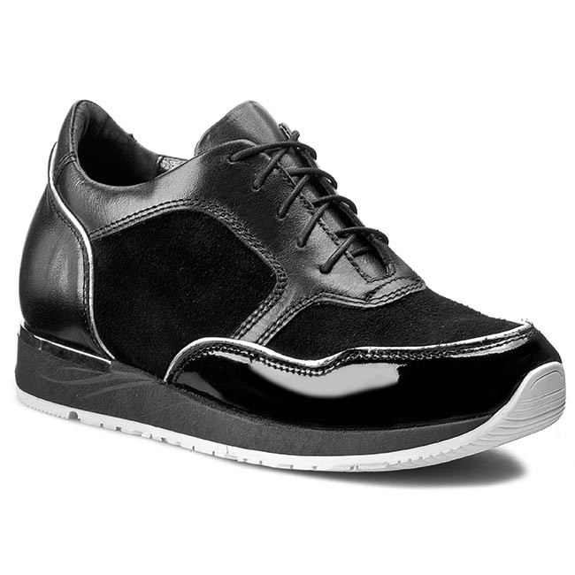 Sneakers Low ROBSON - 5036/1.27-1.020 Black - Wedge-heeled shoes - Low Sneakers shoes - Women's shoes 161dc2