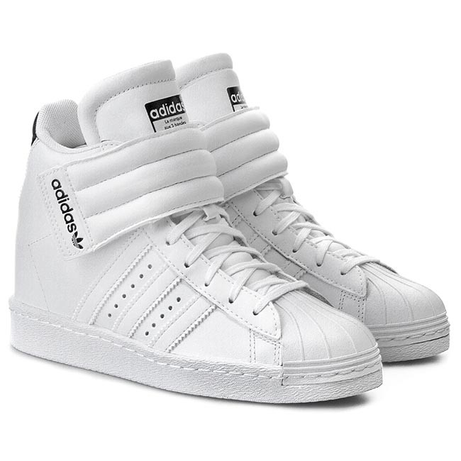 adidas Superstar Up Strap Women's Basketball Shoes Carbon