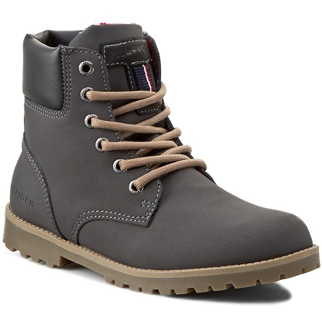 76bc259e94841 Hiking Boots TOMMY HILFIGER - Houston Jr 1N FB56819620 Magnet 884 ...