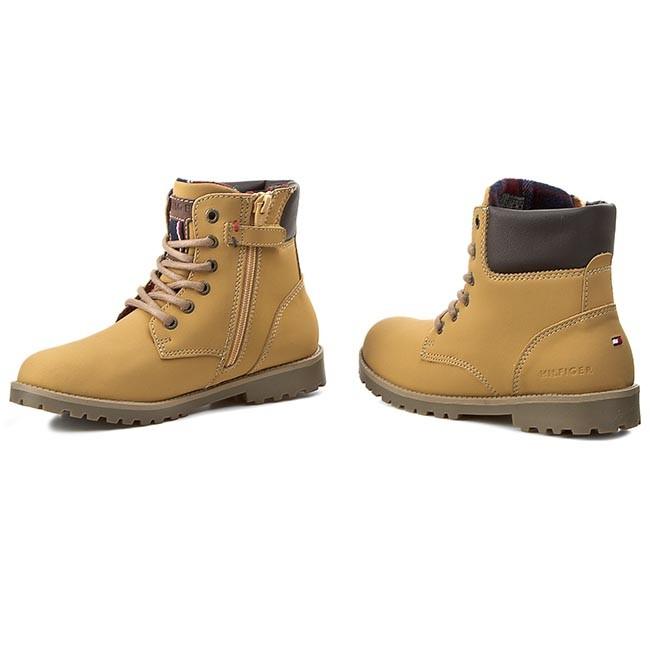Hiking Boots TOMMY HILFIGER - Houston Jr 1N FB56819620 Straw 283 ... e0e1ec2535