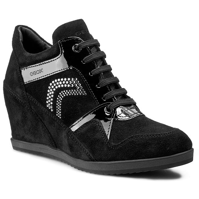 ac90611d6b Sneakers GEOX - D Ilusion A D5454A 02266 C9999 Black - Sneakers ...
