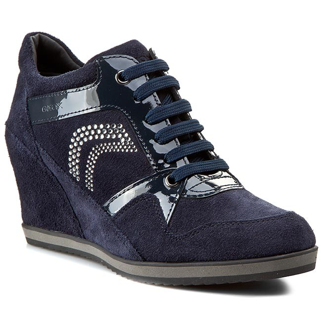 e3edb7dbf2 Sneakers GEOX - D Ilusion A D5454A 02266 C4002 Navy - Sneakers - Low ...
