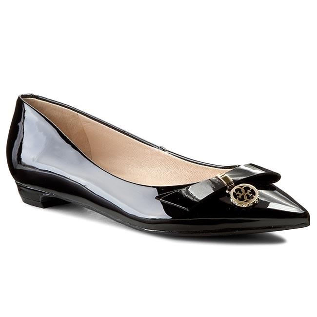 FL3TSI BLACK Tesi PAF02 GUESS shoes Ballerina shoes Low Shoes OEq7x