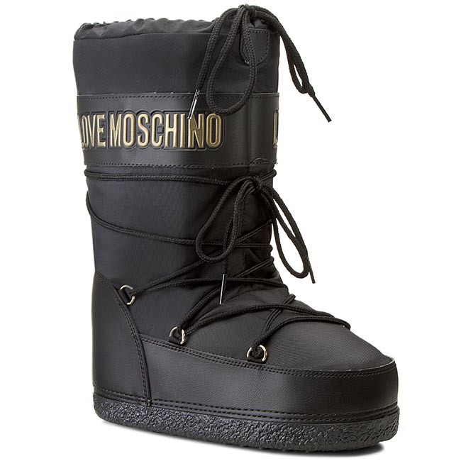 Love MoschinoWinter boots - nero lkaslo