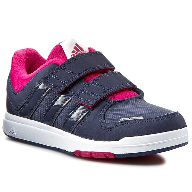 Shoes adidas - Lk Trainer 6 CF K B35286 Granatowy - Velcro - Low ... c58d9a75b0