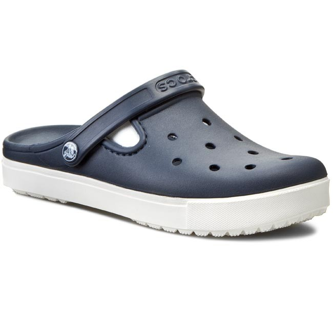 Slides CROCS  Citilane Clog 201831 NavyWhite  Casual mules  Mules  Mules and sandals  Womens shoes       0000197647187