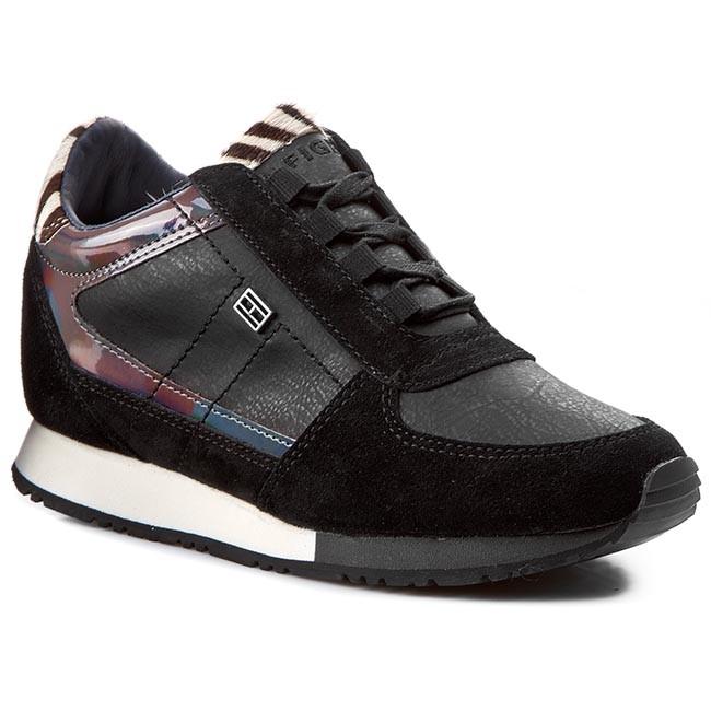 Sneakers TOMMY HILFIGER - Sady 1Z FW56820051 Black/Zebra 990